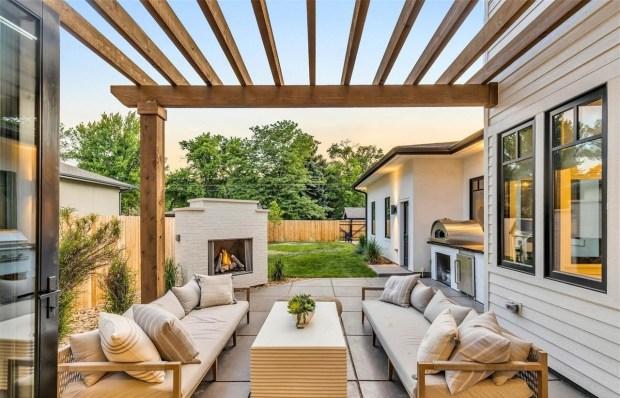 The home has indoor-outdoor living design