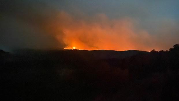 Oil Springs Fire