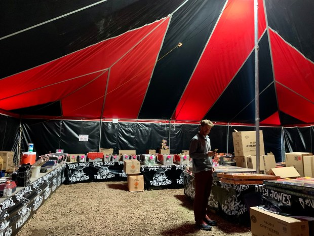 IMG 9874 - Who buys fireworks at 3 a.m.? Inside a 24-hour fireworks tent in Colorado
