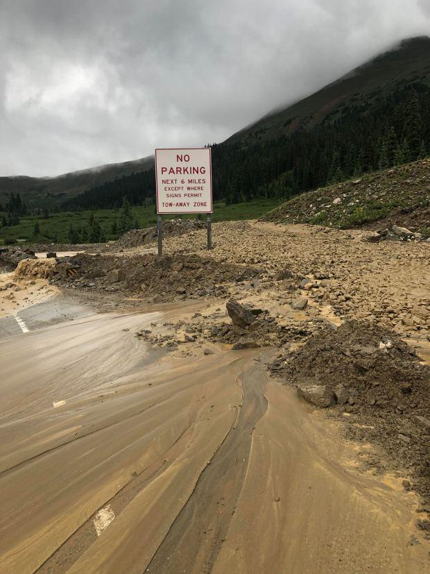 A mudslide closed U.S. 6 over ...