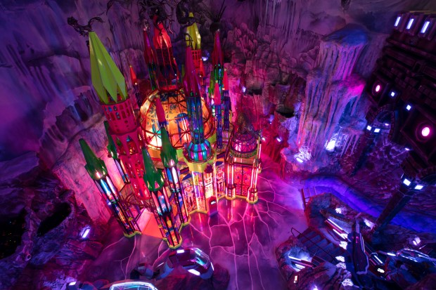 The Cathedral, deep within Meow Wolf's ...