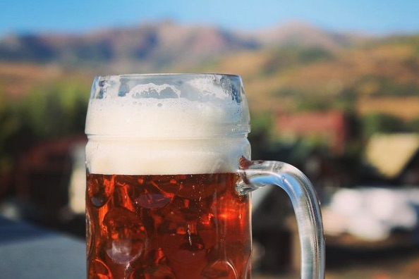 Amber's Lager, from Irwin Brewing Co. ...