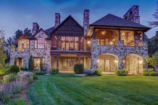This Castle Rock home that sits ...