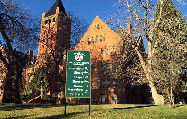 The former Loretto Heights campus on ...