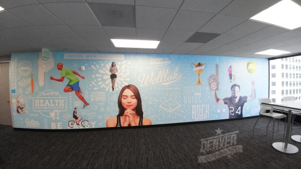 Graphic Design Office Wall Mural