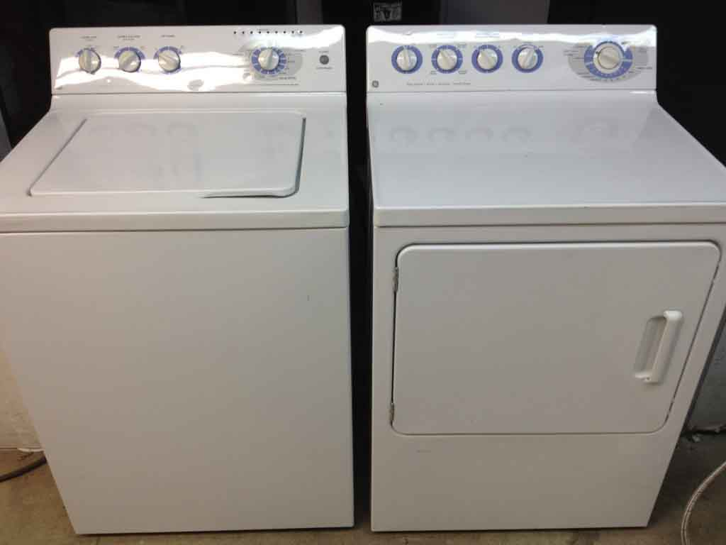 hight resolution of ge washer dryer