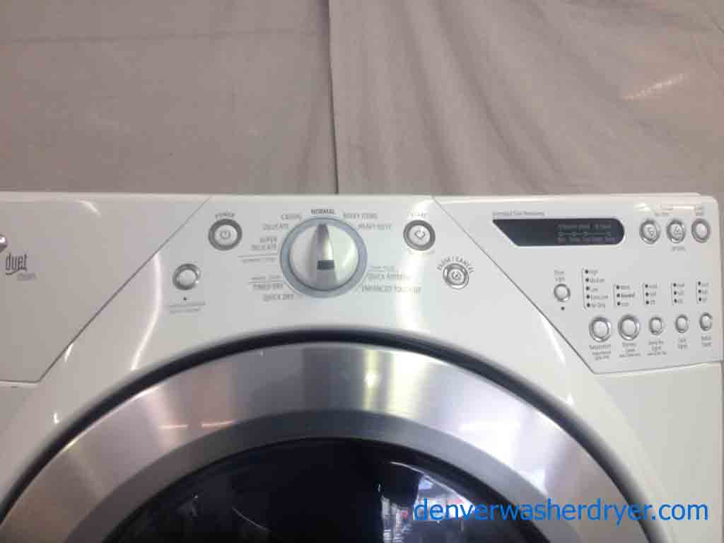 Large Images For Whirlpool Duet Steam Dryer With Pedestal