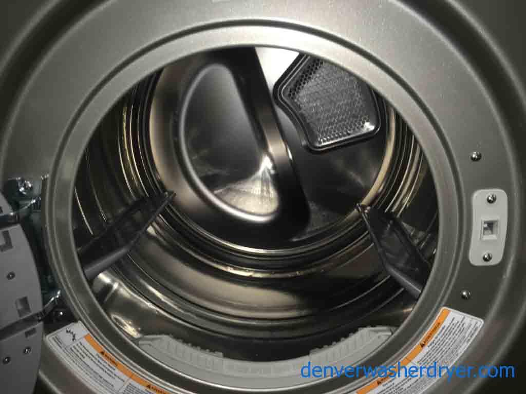 Large Images For Sleek Lg Front Load Washer Dryer Set On