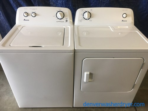 small resolution of amana maytag top load washer electric dryer set 1 year warranty