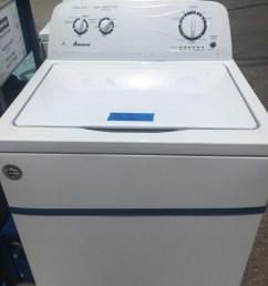 brand new amana washer electric dryer 1 year warranty [ 768 x 1024 Pixel ]