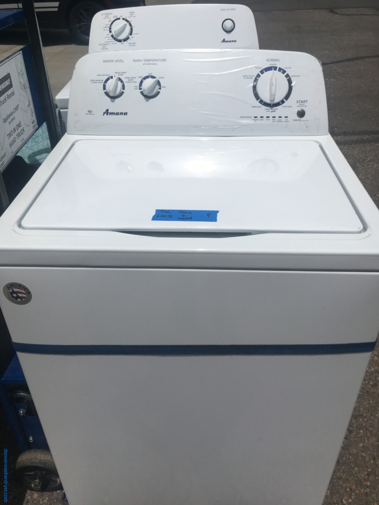 hight resolution of brand new amana washer electric dryer 1 year warranty