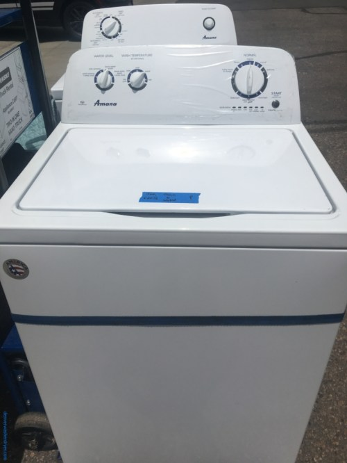 small resolution of brand new amana washer electric dryer 1 year warranty