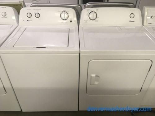 small resolution of amazing amana maytag washer electric dryer set 1 year warranty