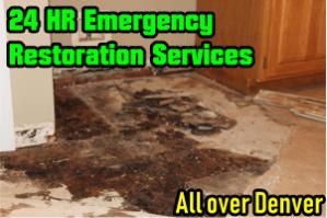 Denver Water Damage Repairs Removal