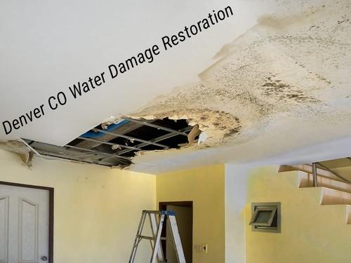 Denver CO water damage restoration