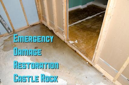 Emergency damage restoration castle rock