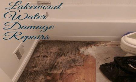 Lakewood water damage repairs