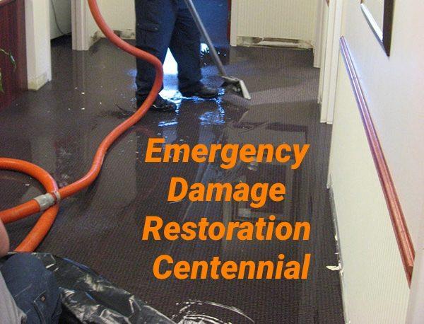 Emergency damage restoration Centennial