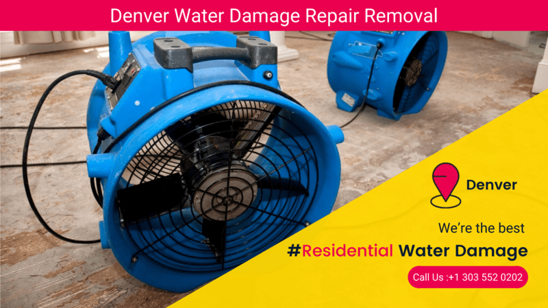 Who should I call for Residential Water Damage in Denver