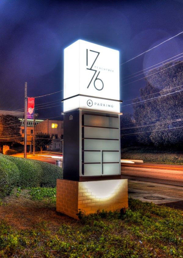 1776 Peachtree Office Signs Denyse Companies
