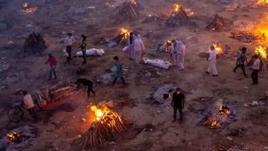 Photo of 'Apocalipsis Covid' en India