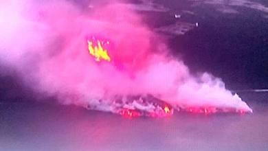 Photo of Y la lava llegó al mar…