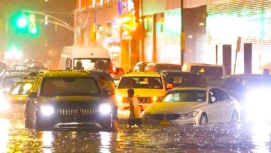 Photo of 'Ida' inunda Nueva York