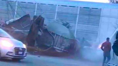 Photo of Tren arrolla a varios vehículos en León
