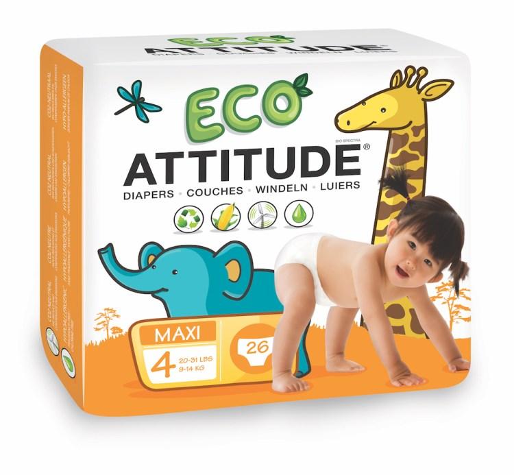 Attitude Ecologische Luiers Maat 4