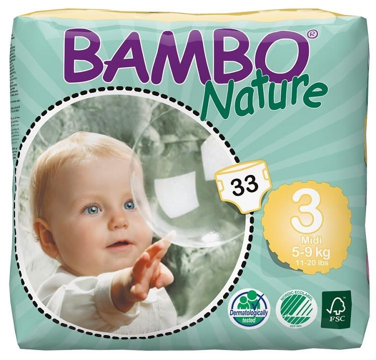 Bambo Luiers 3 Midi 5-9kg