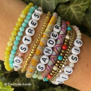 Letter Armbanden