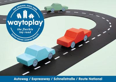 WaytoPlay autoweg 16delig  De Oude Speelkamer