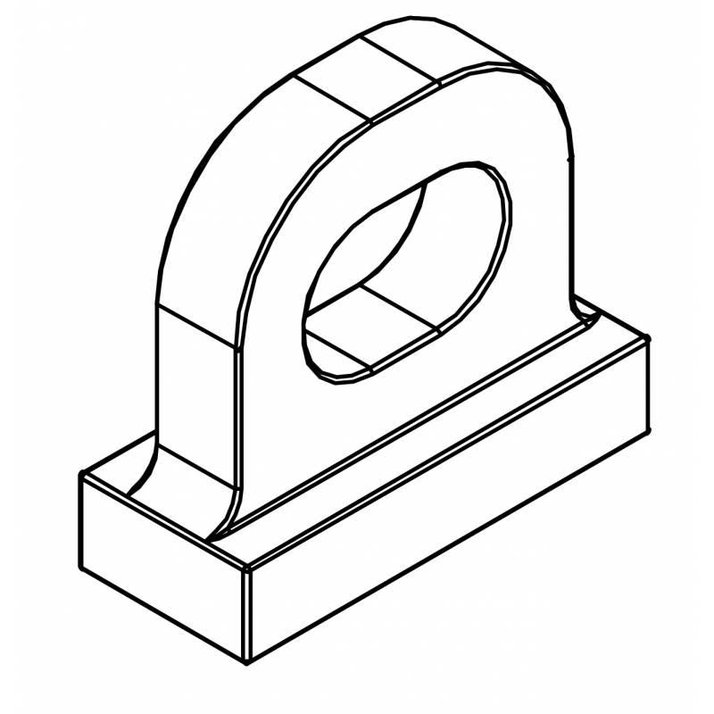Colgador para wall system