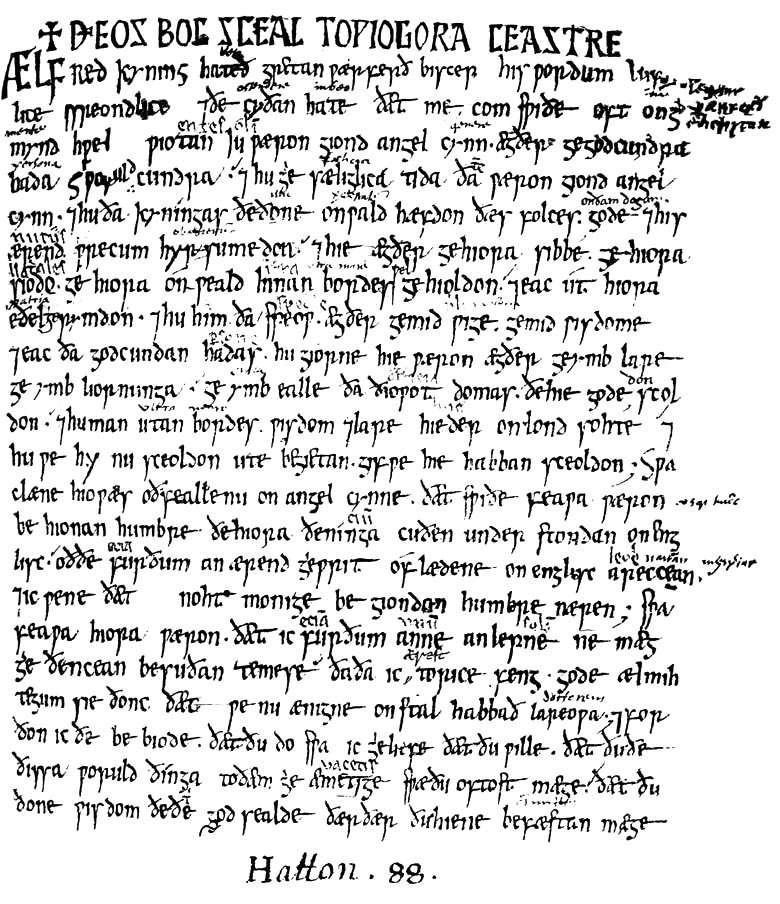 English 440: Medieval Authorship