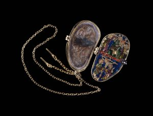 Reliquary pendant of the Holy Thorn