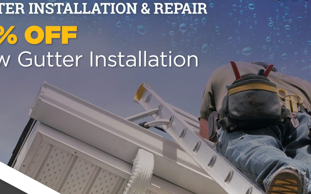 Gutters & Downspouts Are Important Roofing Systems Components.