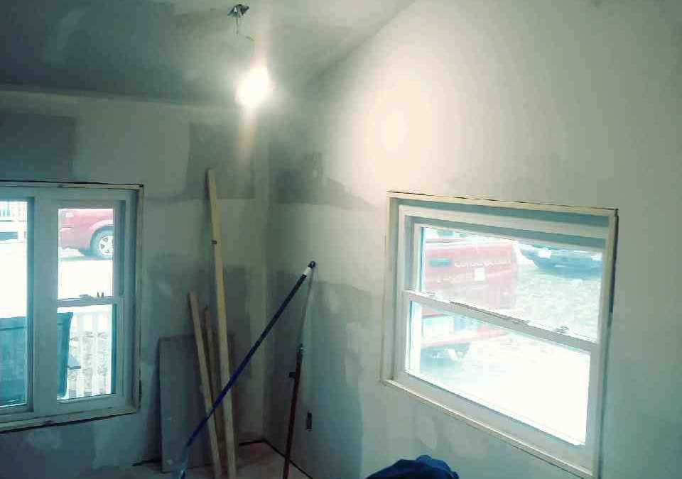 Drywalling joints
