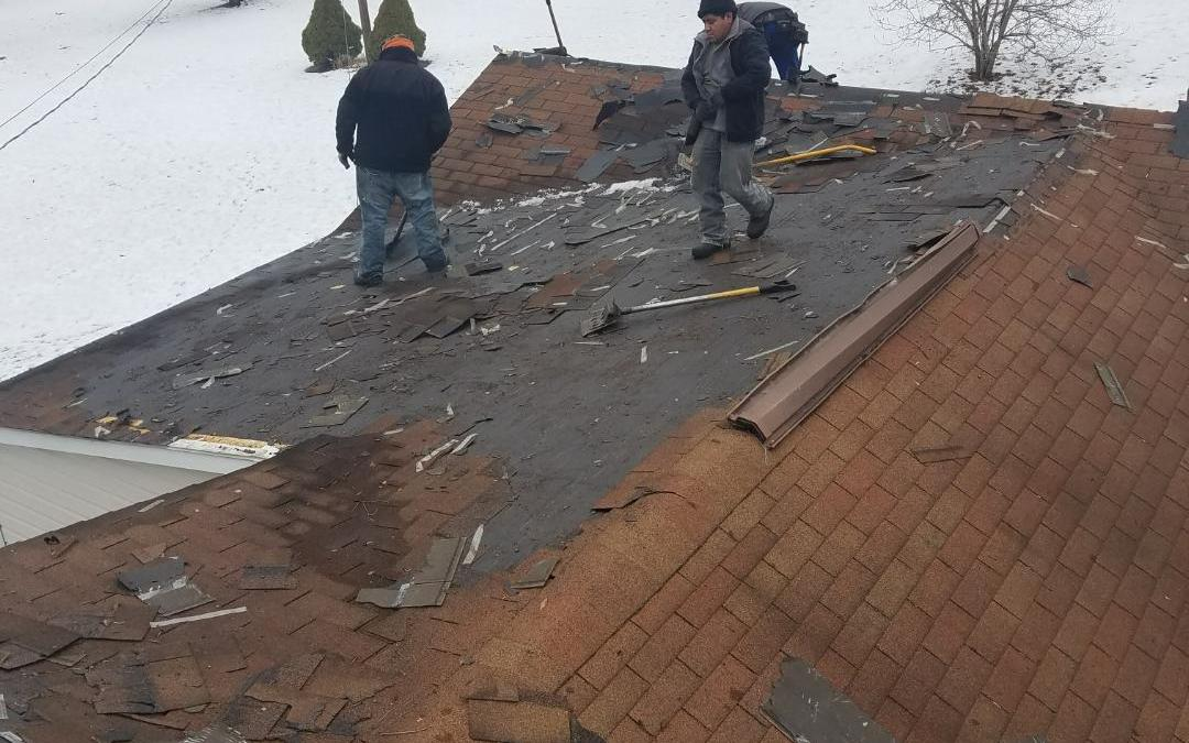 Removal crew Working