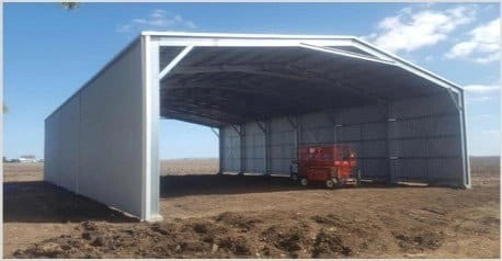open gable ended Rural Shed