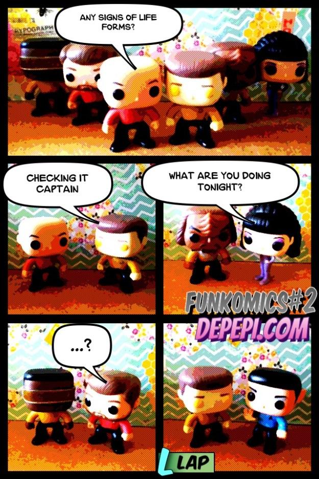 funkomics, comics, webcomics, funko, depepi, depepi.com