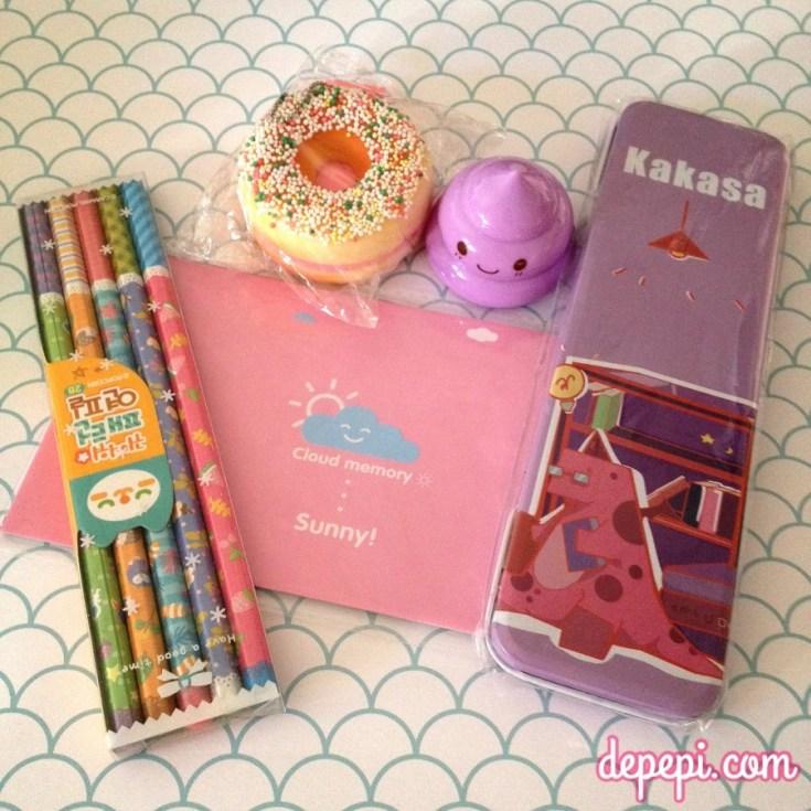 kawaii, giveaway, kawaii giveaway, blippo, kawaii box, depepi, depepi.com