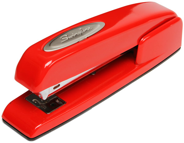 The Red Swingline Stapler, fandom, fandom friday, depepi, depepi.com