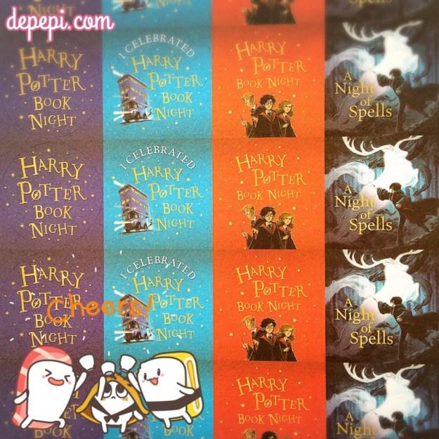 harry potter, harry potter book night, a night of spells, bloomsbury, #harrypotterbooknight, depepi, depepi.com