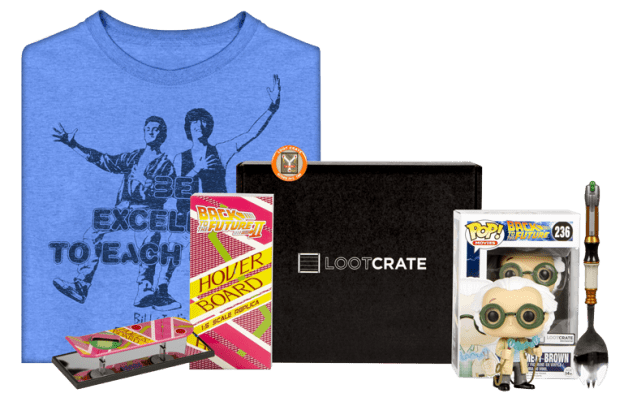 lootcrate, back to the future, Dr. Emmett Brown, Emmett Brown, depepi, depepi.com