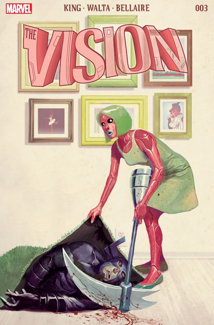the vision, marvel, marvel comics, reading comics, comics thorsday, depepi, depepi.com