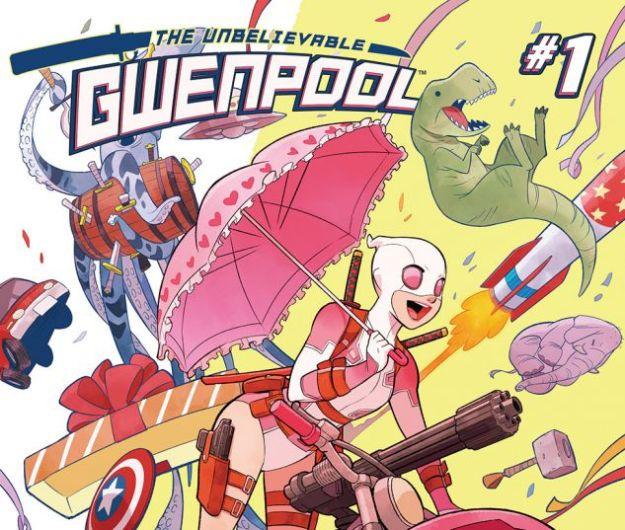 gwenpool, gwenpool #1, marvel, marvel comics, depepi, depepi.com, comics thorsday, thorsday