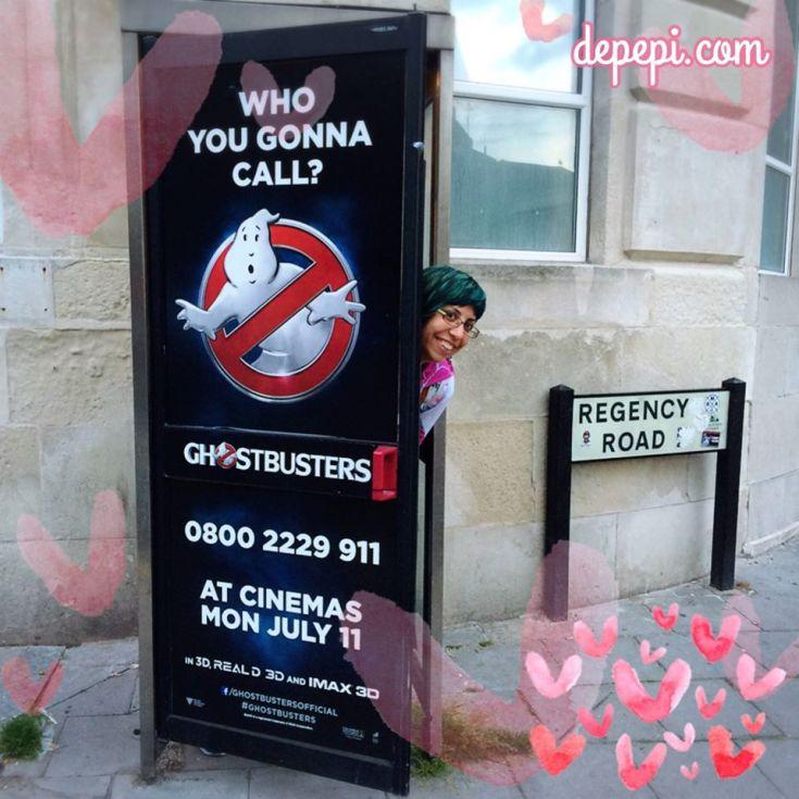ghostbusters, ghostbusters 2016, geek girl brunch, brighton, depepi, depepi.com