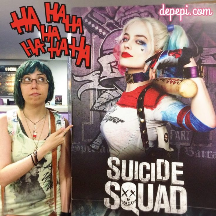 suicide squad, harley quinn, dc, dc comics, depepi, depepi.com
