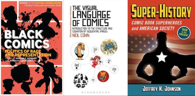 books on comics, comics, the visual language of comics, language of comics, super-history, black comics, depepi, depepi.com