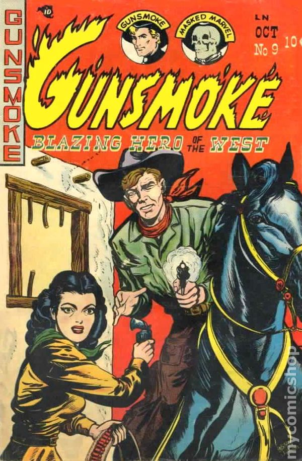 gunsmoke, comics, dell, depepi, depepi.com, history of comics